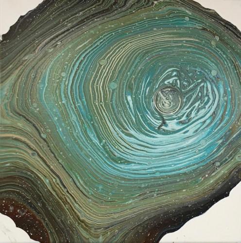 Størrelse: 40x40 cm Akrylmaleri