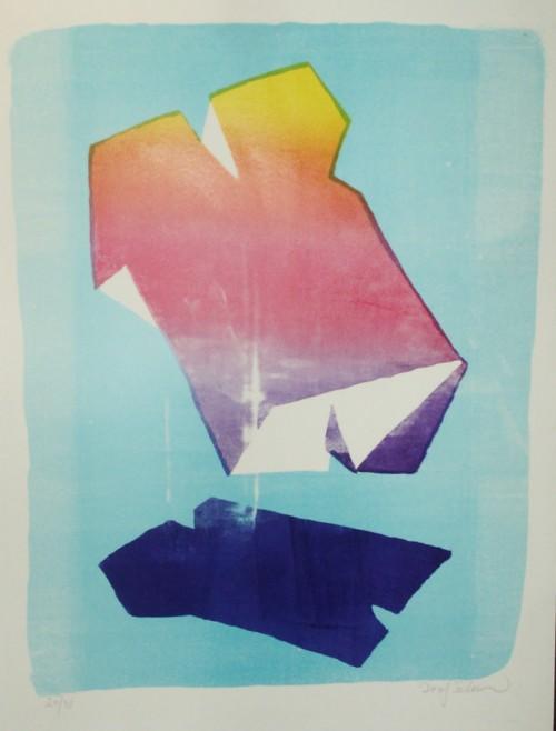 Lithografi - Lithograph48 x 38 cm.800 kr/stk - € 120/ex.Oplag 31 - 3 til salg - Edition 31 - 3 for sale.